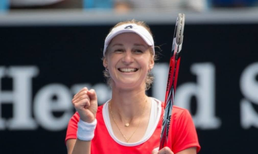 Ekaterina Makarova has progressed to the fourth round or better five years in a row in Australia. On Rod Laver Arena on Tuesday she played her way to her best result