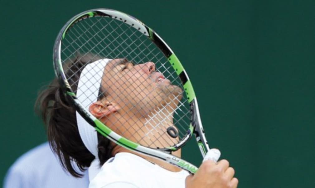 Italian world No.18 Fabio Fognini talks about his trusty Babolat which he has used since he was a youngster