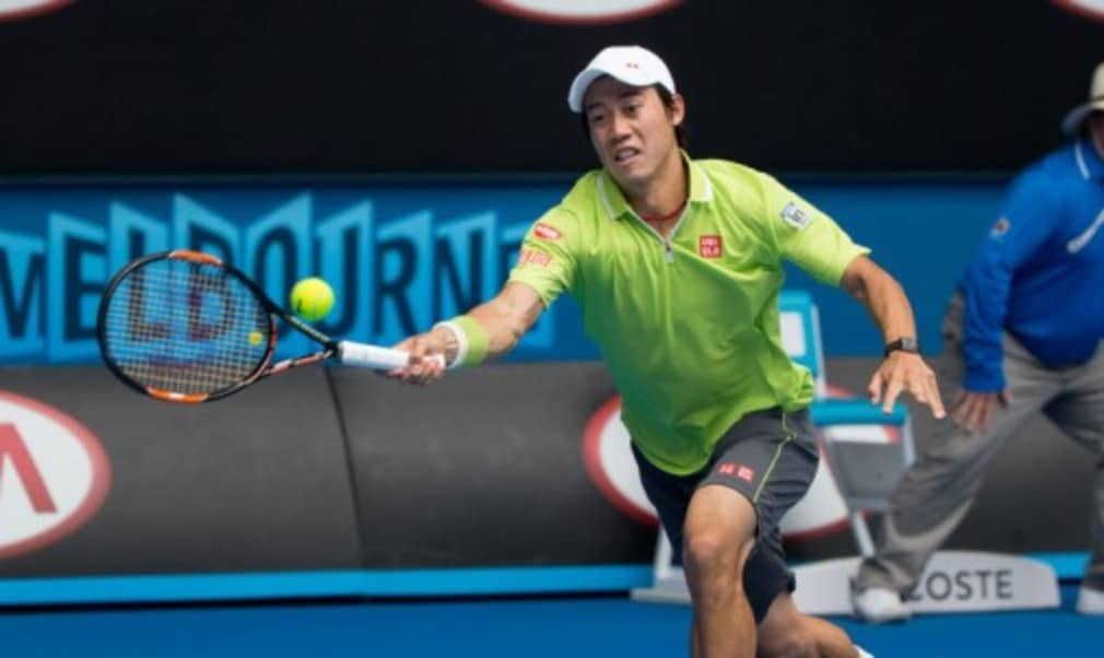 By reaching the quarter-finals at this yearŠ—Ès Australian Open Kei Nishikori has achieved his best result at the Grand Slam of Asia Pacific