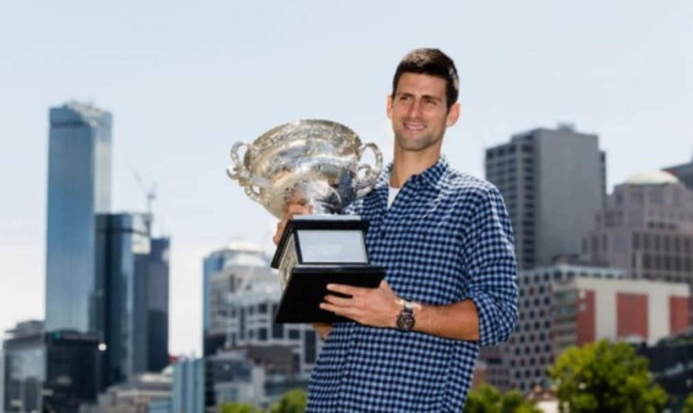 Novak Djokovic says memories of his 2013 Australian Open victory helped him overcome a physical crisis during his victory over Andy Murray