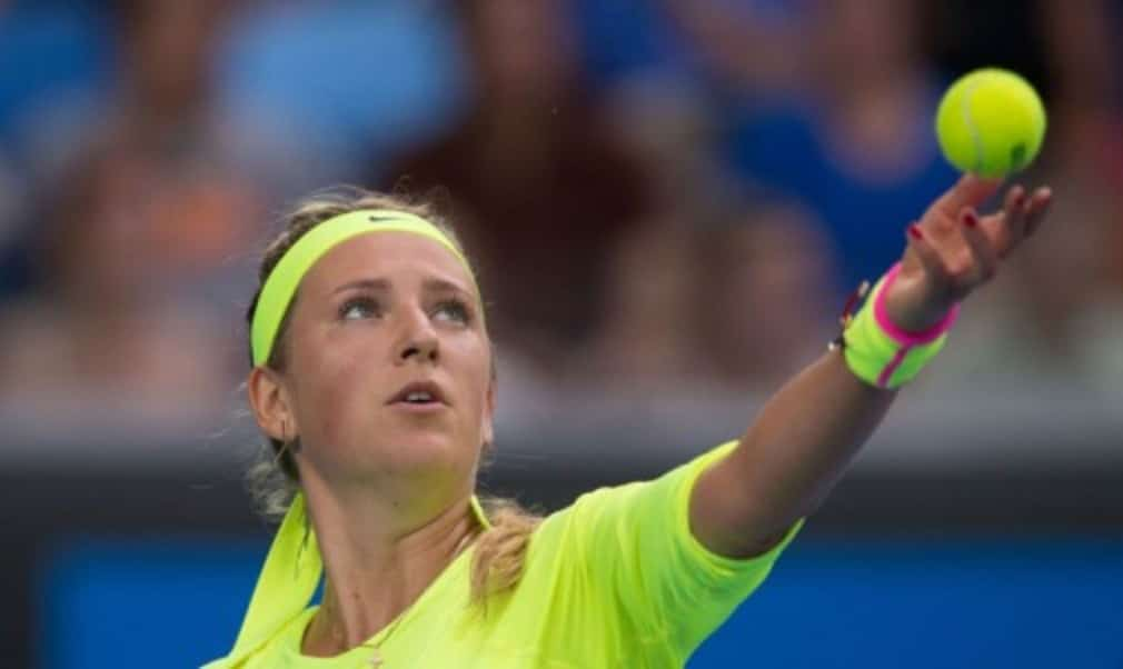 Victoria Azarenka returned to the worldŠ—Ès top 40 following her defeat to Lucie Safarova in the Qatar Total Open final