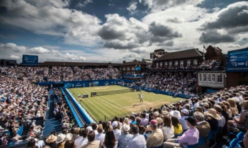 The QueenŠ—Ès Club has been confirmed as the host venue for Great BritainŠ—Ès Davis Cup quarter-final against France in July
