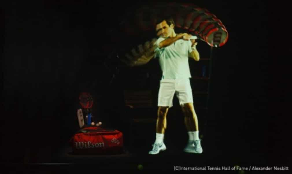 Hologram the highlight of $3m renovation at the International Tennis Hall of Fame Museum