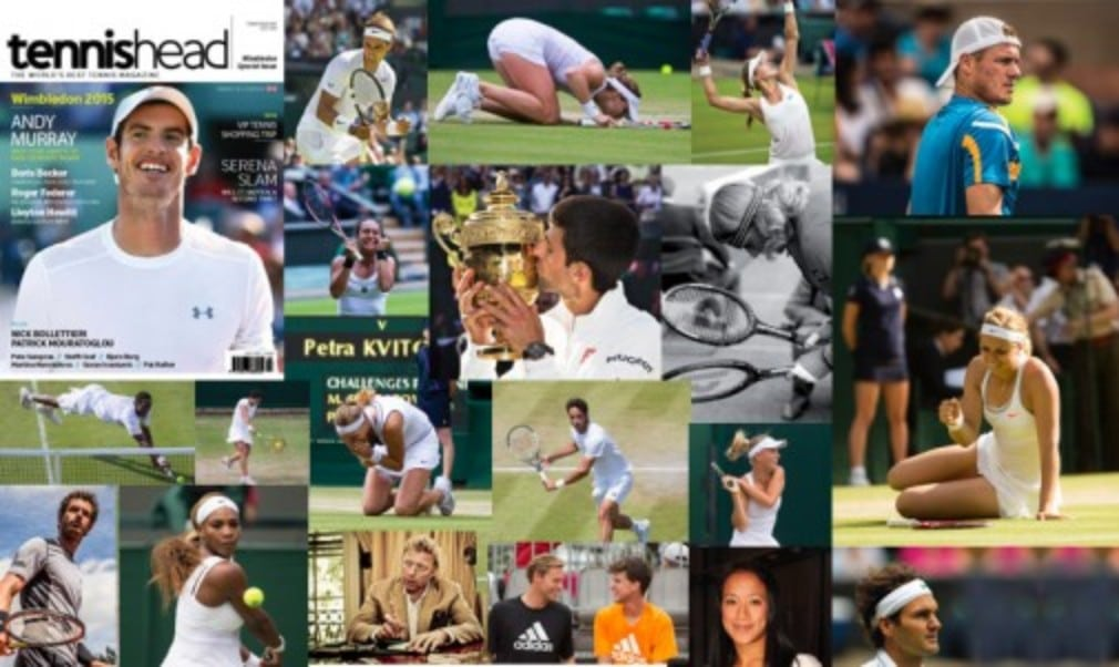 The stunning new-look Wimbledon 2015 special issue of tennishead is out now