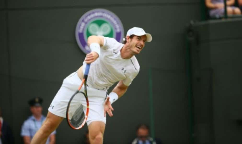 Andy Murray made light work of Robin Haase as he reached the third round at Wimbledon for the tenth time in his career