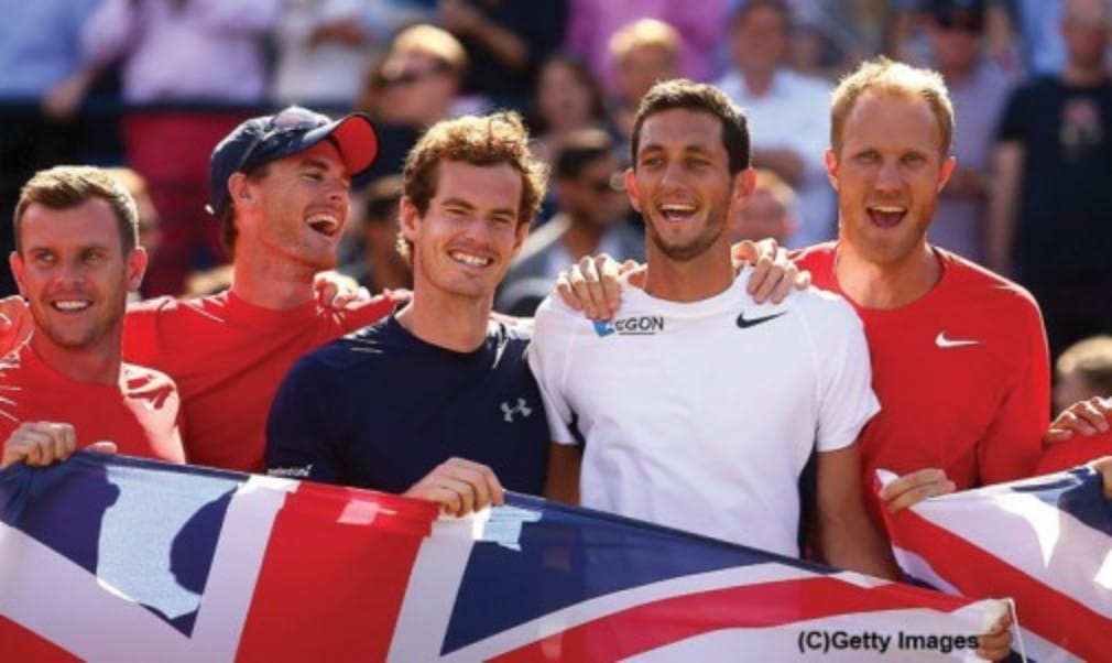 Great Britain will return to Glasgow to take on Australia in the Davis Cup semi-final next month
