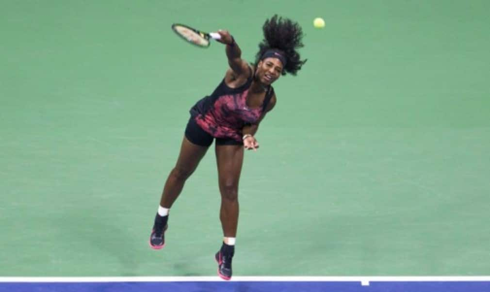 Serena Williams was not concerned about lack of match time after spending just 30 minutes on court during her first round match at the US Open