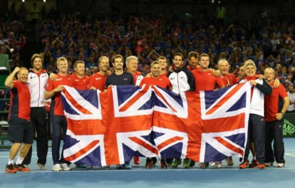 Great Britain are through to the final of the Davis Cup for the first time in 37 years thanks to another remarkable performance by Andy Murray.