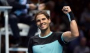 Rafael Nadal beat Andy Murray in convincing fashion to qualify for the semi-finals of the Barclays ATP World Tour Finals in London