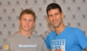 DonŠ—Èt forget how much you love the sport Š—– thatŠ—Ès the advice of world No.1 Novak Djokovic for talented juniors hoping to follow in his footsteps
