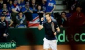 Andy Murray became the first player to win eight live singles rubbers en route to winning the Davis Cup title