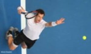 Andy Murray kicked off his 2016 season with a 6-2 6-2 victory over FranceŠ—Ès Kenny De Schepper at the Hopman Cup in Perth