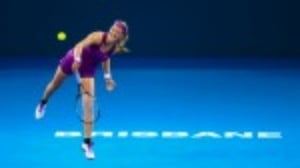 Victoria Azarenka believes she is in the best shape in three years as she kicked off her season at the Brisbane International