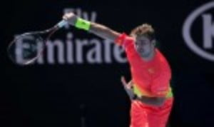 Stan Wawrinka notched his 400th professional match win with a straight sets victory over Lukas Rosol to reach the last 16 at the Australian Open