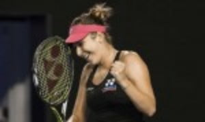 Belinda Bencic may have had to settle for the runner-up trophy in St Petersburg