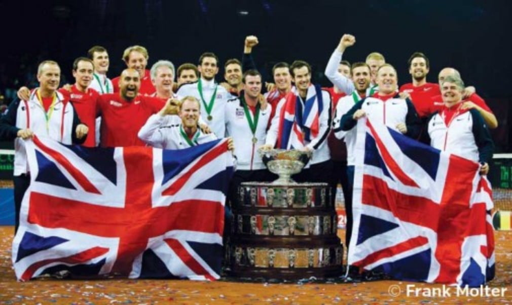 Defending champions Great Britain will return to the clay when they face Serbia in the Davis Cup quarter-finals in July