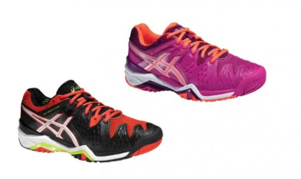 Get your hands on a pair of Asics Gel Resolution 6 shoes for the summer