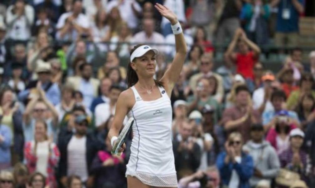 Twelve months ago Agnieszka Radwanska arrived in the UK for the grass court season struggling for form