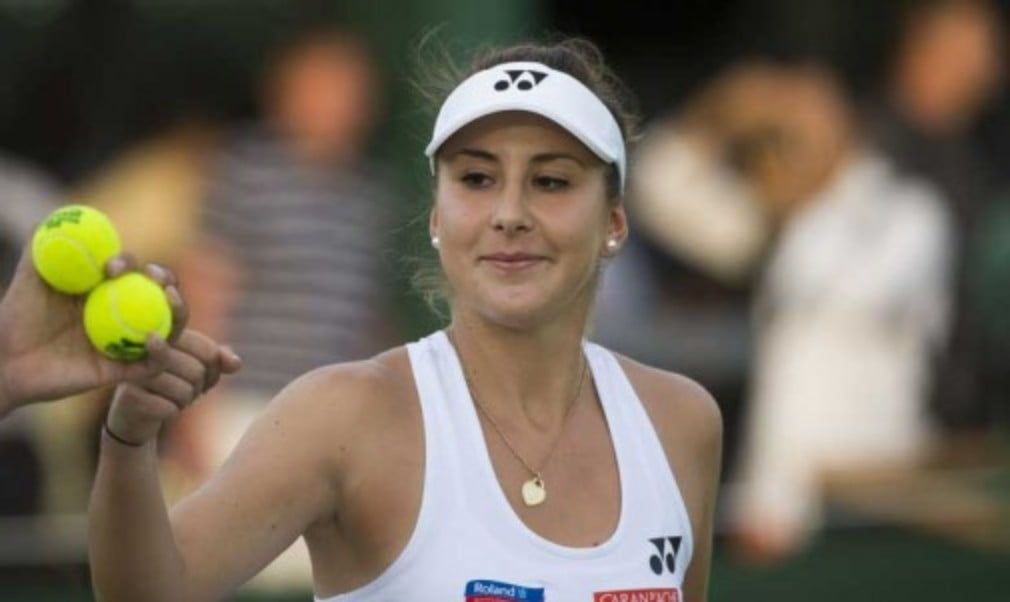 Belinda Bencic is refusing to put pressure on herself during the 2016 grass court season after missing the clay court season with a back injury