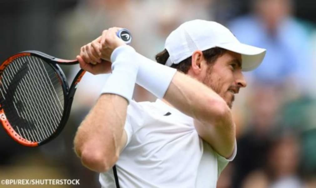 Andy Murray was happy to conserve energy after reaching the second round at Wimbledon with a straight sets victory over British wildcard Liam Broady