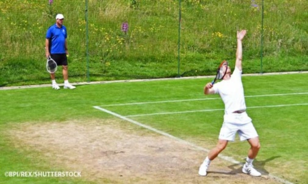 Andy Murray is hoping to avoid an upset at the hands of the man who beat Andy Roddick at Wimbledon six years ago
