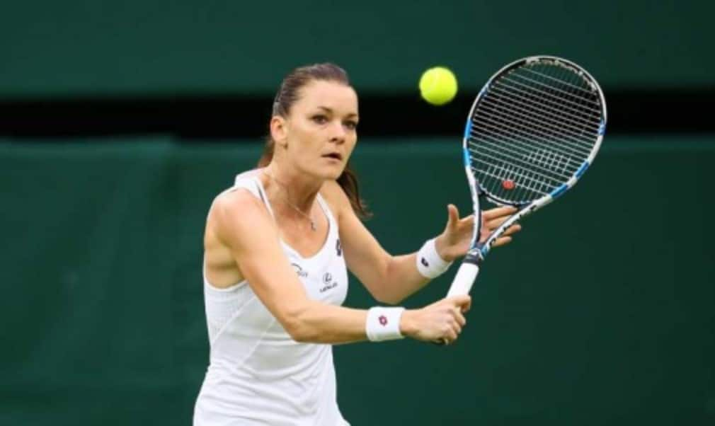Agnieszka Radwanska admits she was counting her lucky stars after being scheduled to play on Centre Court at Wimbledon on Wednesday