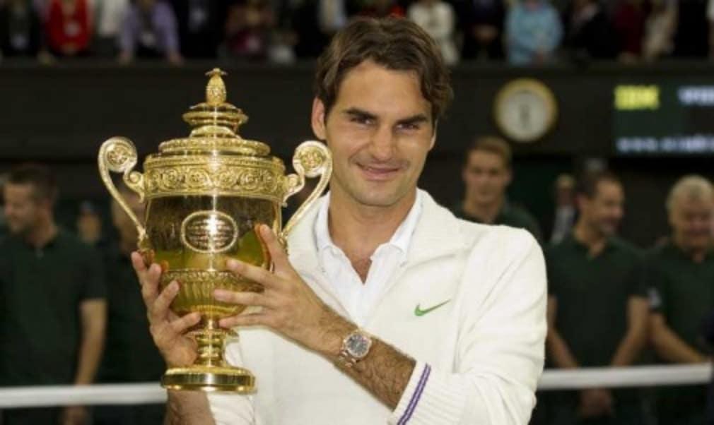 He's won seven Wimbledon finals