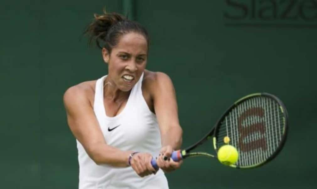 Madison Keys is making her fourth main draw appearance at Wimbledon this year and it is no surprise to find the world No. 9 in the second week
