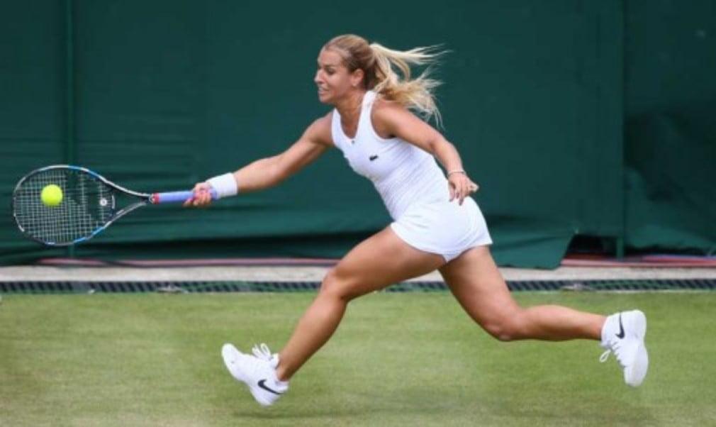 Dominika Cibulkova may have to postpone her wedding this week after reaching the Wimbledon quarter-finals