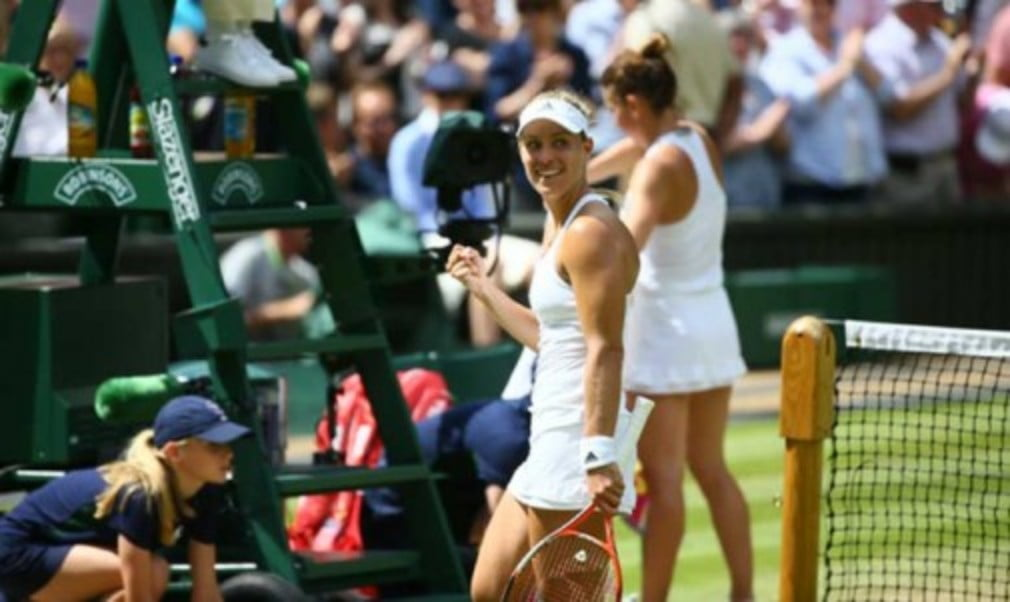 A lot has changed since Angelique Kerber last played in the semi-finals at Wimbledon