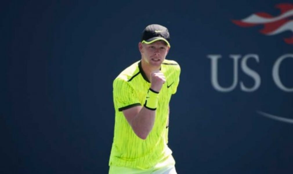 Kyle Edmund defeated Richard Gasquet in the first round of the US Open