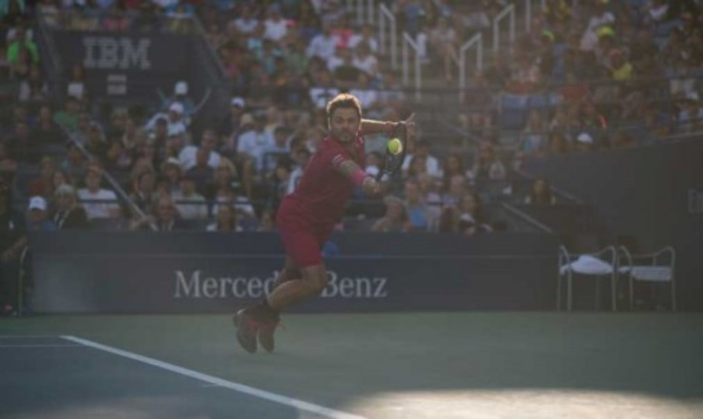 Stan Wawrinka was relieved to book his place in the second week of the US Open after saving match point against Dan Evans