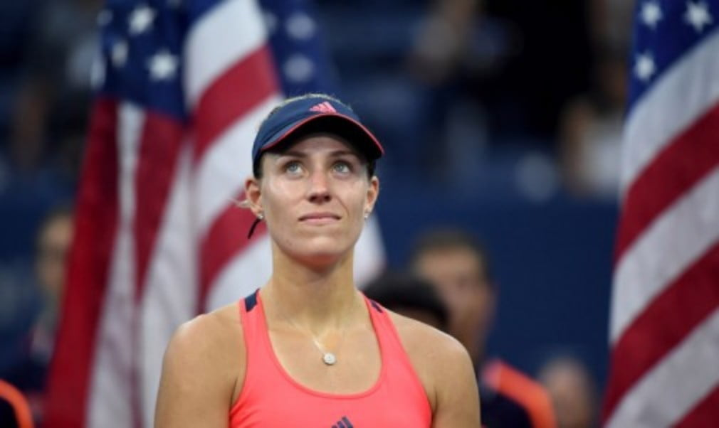 Angelique Kerber explains why she is reaping the rewards for putting in the hard yards on the practice court