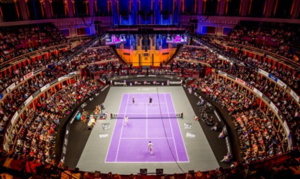If you would like to be at Champions Tennis at the Royal Albert Hall on December 4