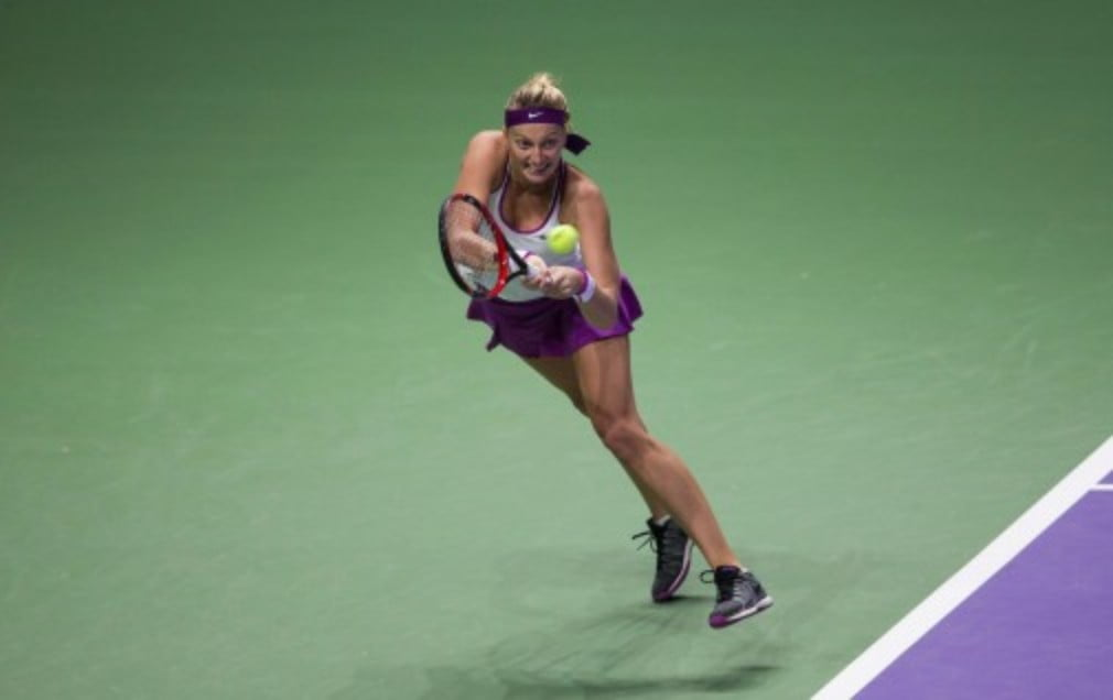 Petra Kvitova concedes she will always blow hot and cold after blazing to victory at the Wuhan Open in China