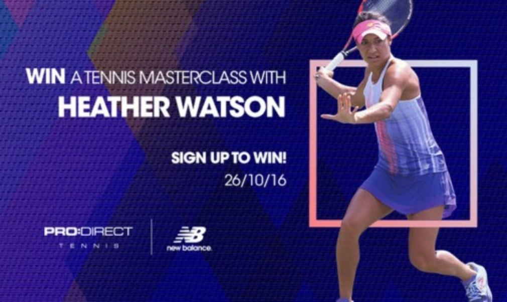 Enter our competition for the chance to attend a tennis masterclass with Wimbledon mixed doubles champion Heather Watson