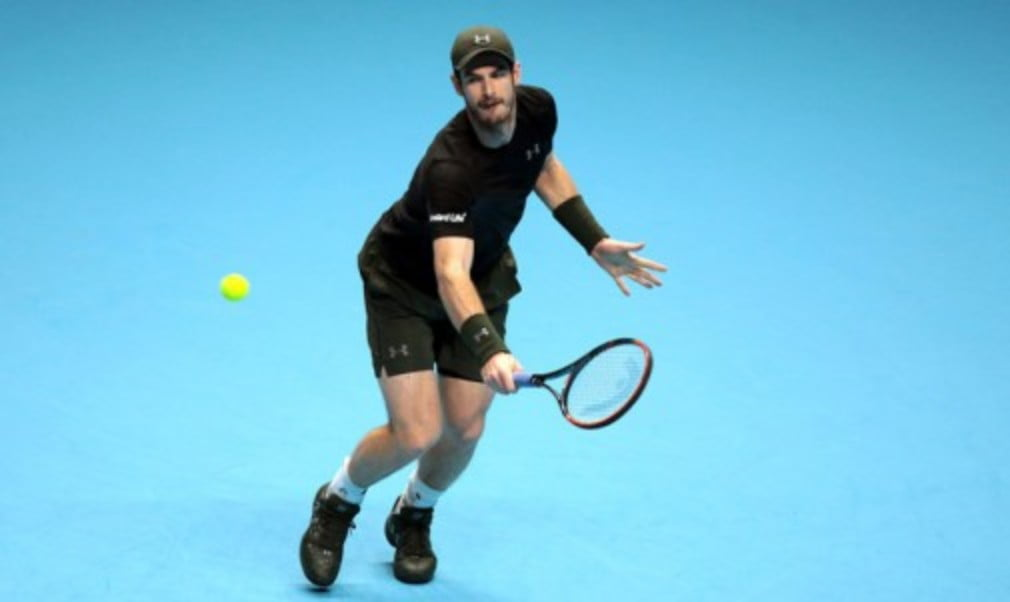 Andy Murray set a semi-final clash with Milos Raonic at the Barclays ATP World Tour Finals with victory over Stan Wawrinka