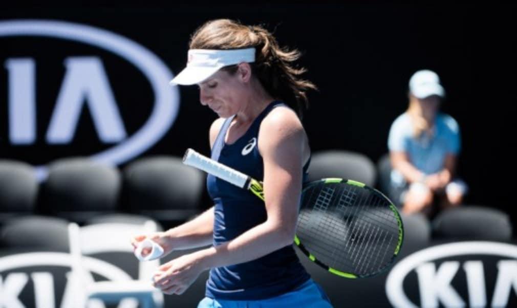 Johanna Konta prepares to take on Caroline Wozniacki in the third round at the Australian Open