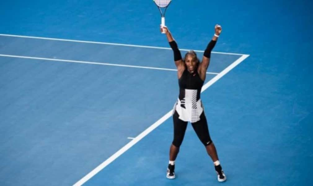 Serena Williams booked her place in the Australian Open final defeating Mirjana Lucic-Baroni 6-2 6-1 in 50 minutes