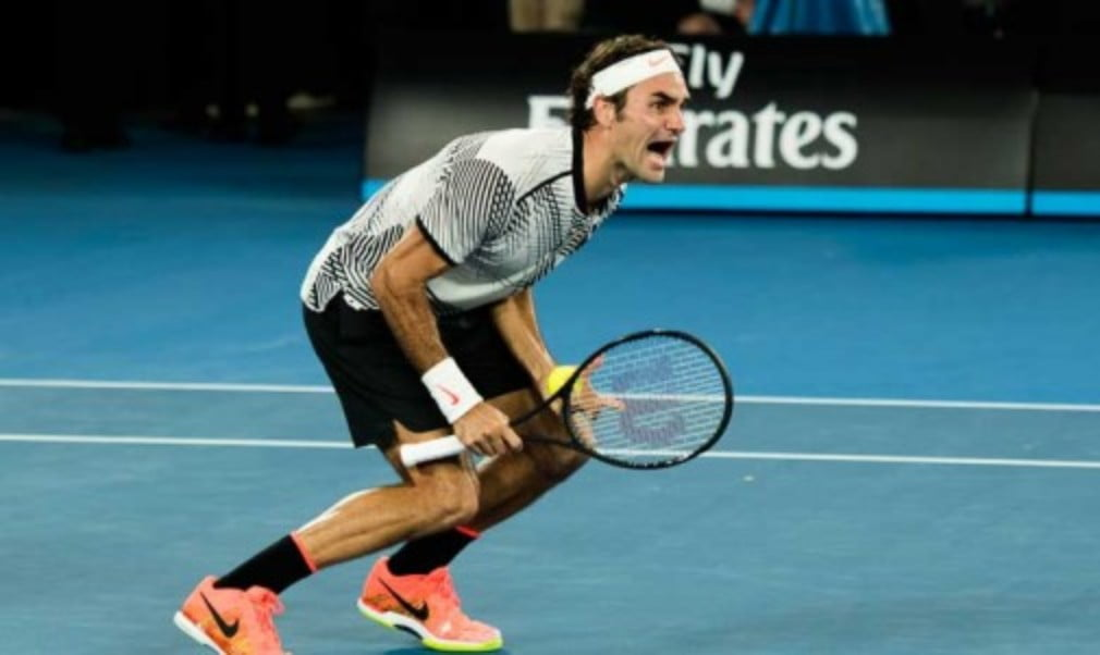The joy of victory in 10 exclusive photos from the Australian Open