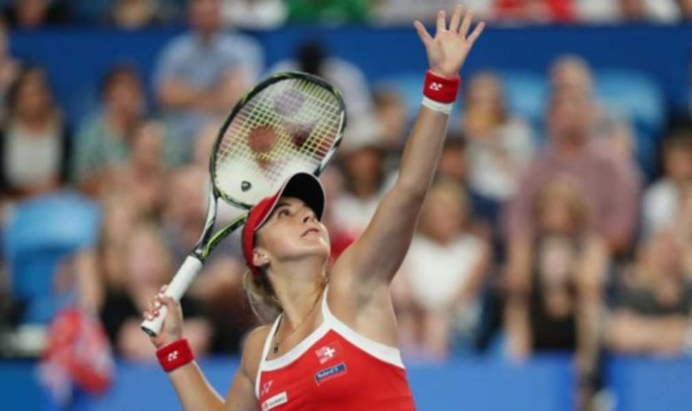 Switzerland reached the Fed Cup semi-finals for the second straight year after victory over France in Geneva