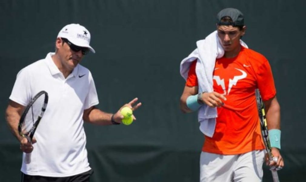 Toni Nadal has confirmed he will step down as Rafael NadalŠ—Ès coach at the end of the season
