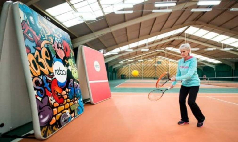 Tennis is a two-sided sport so it is important to develop co-ordination on both the left and right sides