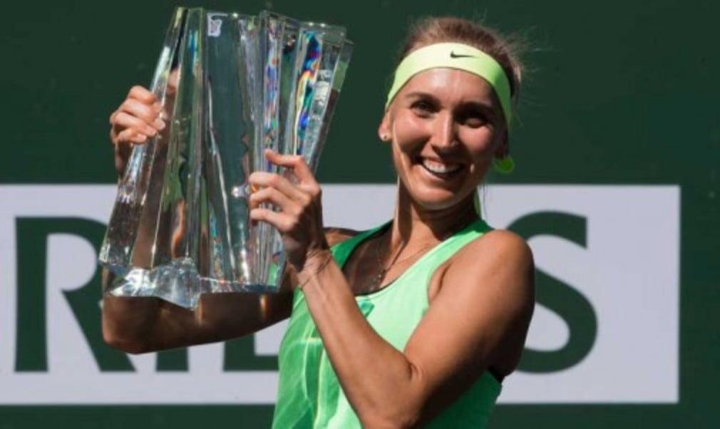 Elena Vesnina won the biggest title of her career