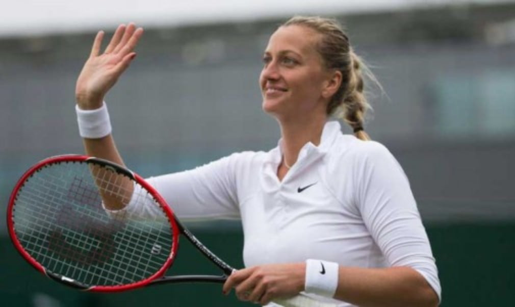 Petra Kvitova is getting closer to making her comeback from a career-threatening hand injury