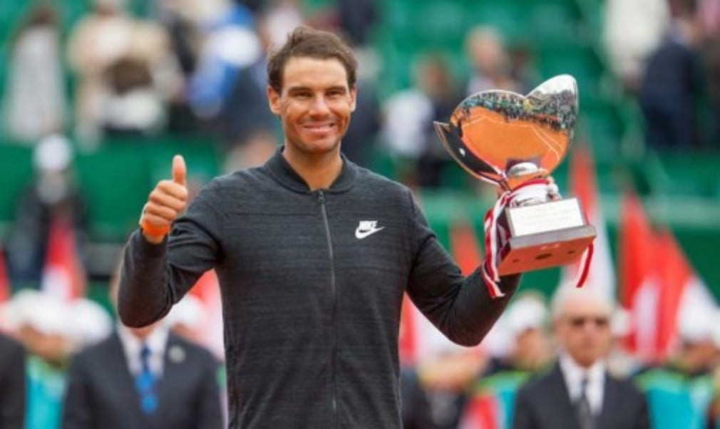 Rafael Nadal won an historic tenth title at the Monte Carlo Masters with victory over Albert Ramos-Vinolas