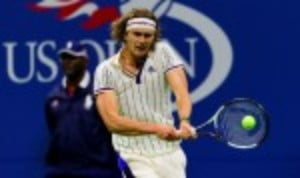 Alexander ZverevŠ—Ès US Open dream has been ended at the second round stage by Borna Coric