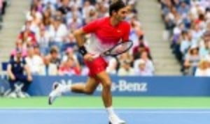 Roger FedererŠ—Ès rollercoaster start to the US Open continues as he was pushed to the brink by Mikhail Youzhny