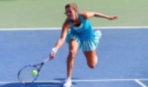 Julia Goerges reached the fourth round of the US Open for the first time after a comprehensive win over Aleksandra Krunic