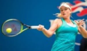 Coco Vandeweghe is through to the last eight of the US Open singles and she will face world No.1
